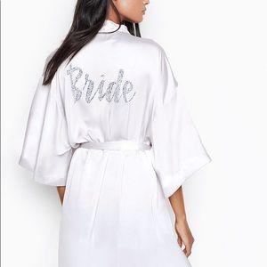 Victoria Secret Satin Bride Robe